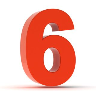 Bigstock-The-Number-Six--Red-Plastic-46672468