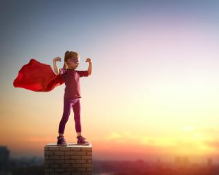 Bigstock-Little-child-girl-plays-superh-113944775