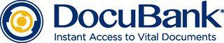 DocuBank logo with tag