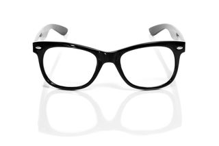 Bigstock-black-glasses-on-a-white-backg-40705117
